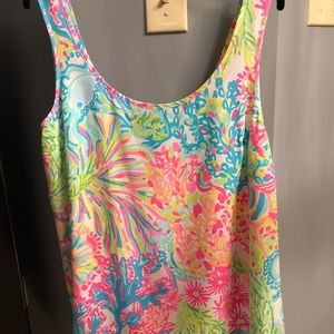 Lilly Pulitzer Cosmos Silk Top NWOT